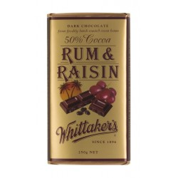 Whittakers Dark Rum and...
