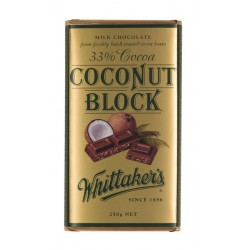 Whittakers Milk Coconut Block